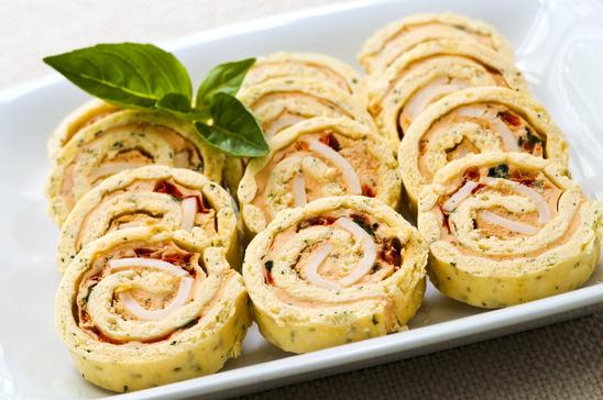 Sandwich Spiral Roll